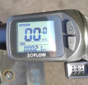 E-Scooter Soflow S06 Test- Akku bei Tag