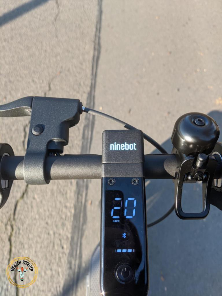 Segway Ninebot MAX G30D Höchstgeschwindigkeit