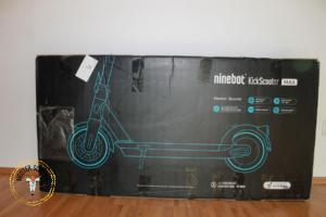 Verpackung Segway Ninebot MAX G30D