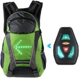 Rucksack mit LED Blinker