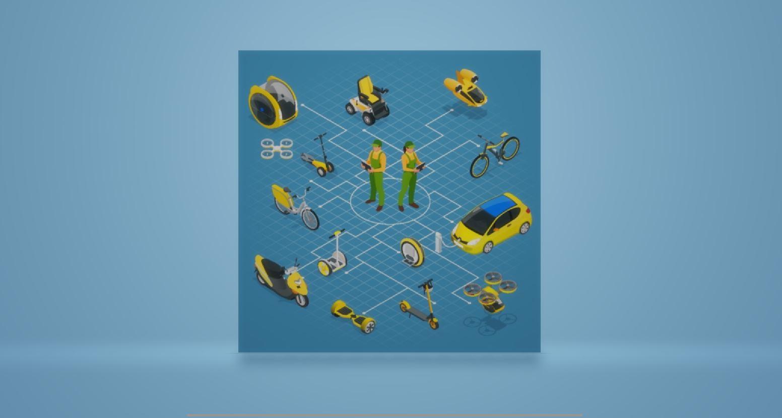 Mikromobilität Test - die Produkte